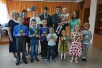 Праздничная игровая программа «Оранжевое солнце», посвященная Дню защиты детей, прошла в центре помощи детям г. Миньяр.