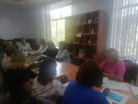Проведение встречи Комплексном центре социального обслуживания населения  города Сим   Ашинского муниципального района