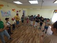 Спортивный праздник «Мы – спортивная семья!» в МКУСО «Центр помощи детям г.Сим»