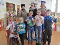 В Центре помощи детям г. Миньяр уделяется большое внимание изучению народной культуры